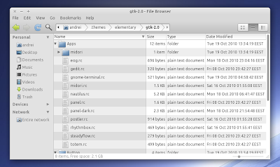 Elementary GTK theme 2.0