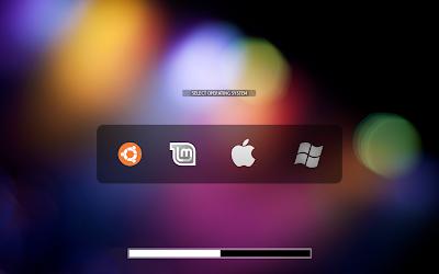 BURG Menu ubuntu