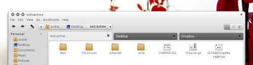 Orta 1.0 new tab styles