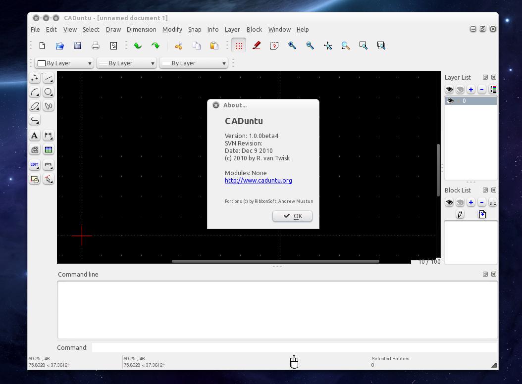 Caduntu 2d Cad Drawing Tool Becomes Librecad Gets Ubuntu Ppa