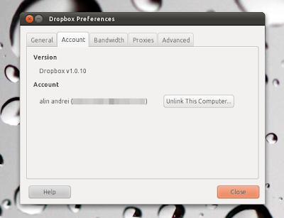 Dropbox 1.0 Ubuntu