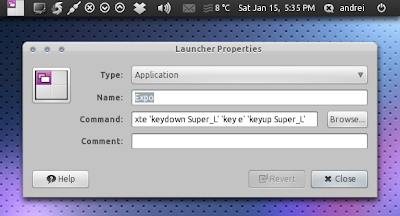 Custom application launcher