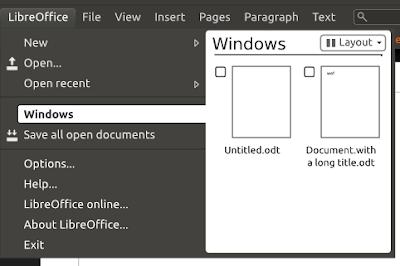 LibreOffice Citrus mockups