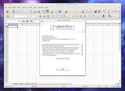 LibreOffice 3.3.0