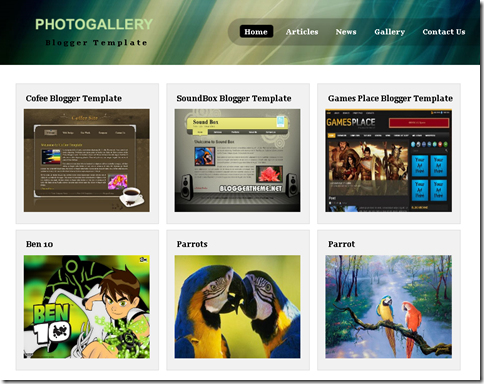 free gallery template - Romeo.landinez.co