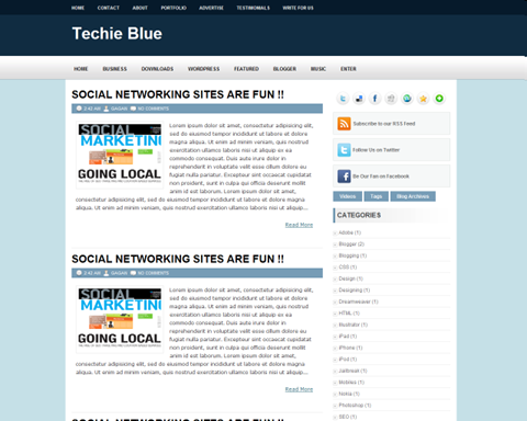 Techie Blue