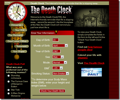 The Death Clock