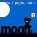 Full Moon: Aponte e clique para ajudar o coelho