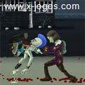 Ragdoll Zombie Slayer: Elimine os zumbis vindo em sua direção