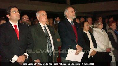 Ivan Ludueña, Giusepe Angeli, Rosario Micciche