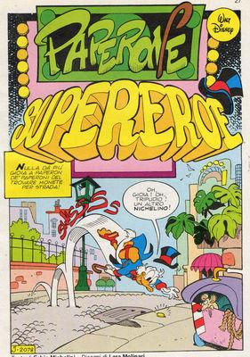 Paperone supereroe