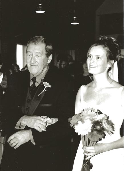 Dad and Jenn wedding