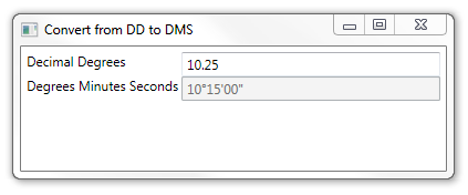 DMS Value Converter