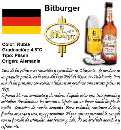Bitburger caracteristicas