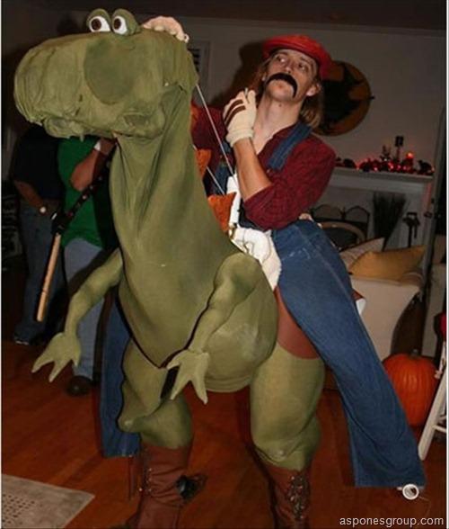 Mario Cosplay #FAIL