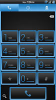 Screenshot of Simple Blue CM11/AOKP Theme