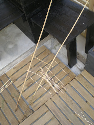 tuteur/treillis en bois