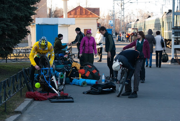Велопоход к горе Воттоваара: 30.04 — 05.05
