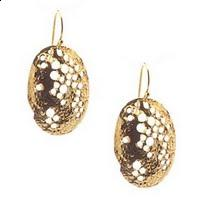 Alexis Bittar Jewelry - ammered Oval Earrings