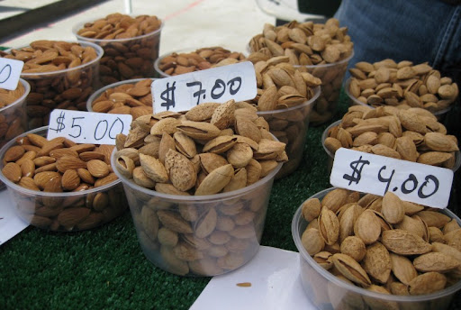 Almonds from Hopkins AG