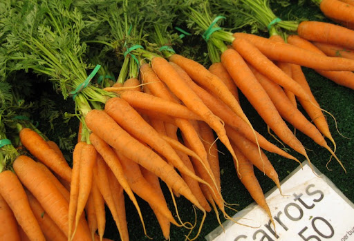 Carrots from the Maciel Family Farm