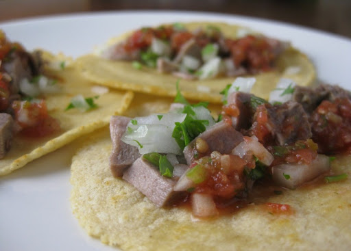 Lamb Tongue Tacos