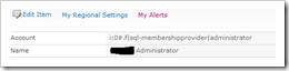 Administrator Claims FBA username