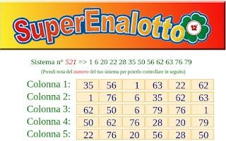 Screenshot of SuperEnalotto 12+
