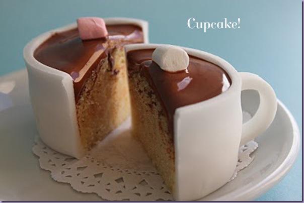 Cupcake-Xícara-de-Chocolate-Quente