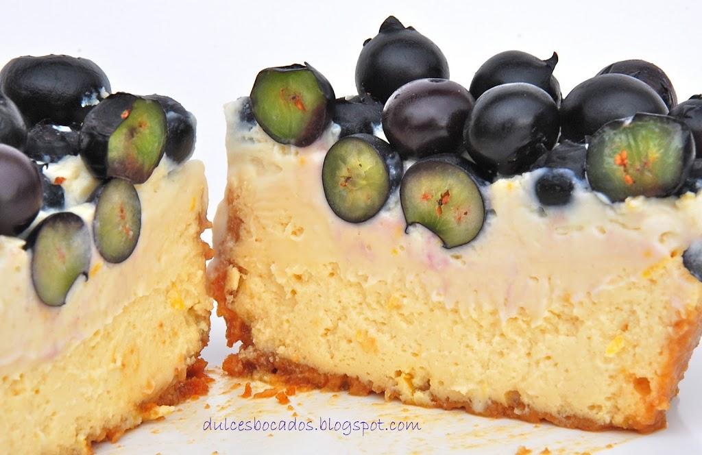 Cheesecake con arancanos