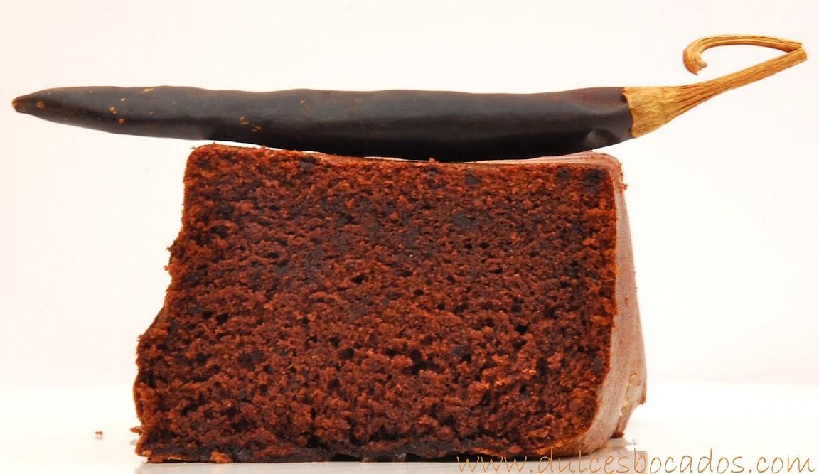 tarta picante de chocolate