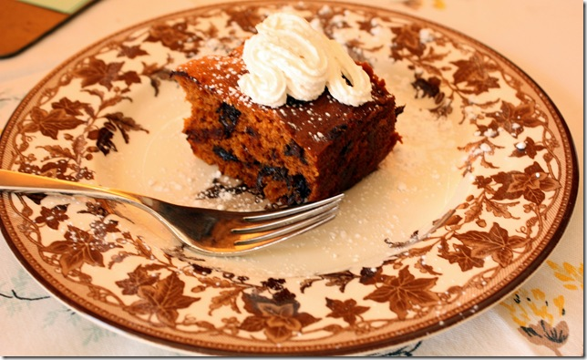 Close up Tomatoe Cake