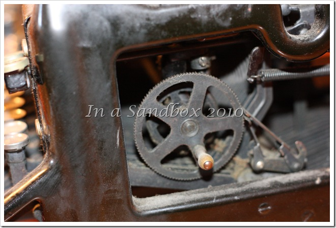 typewriter gears