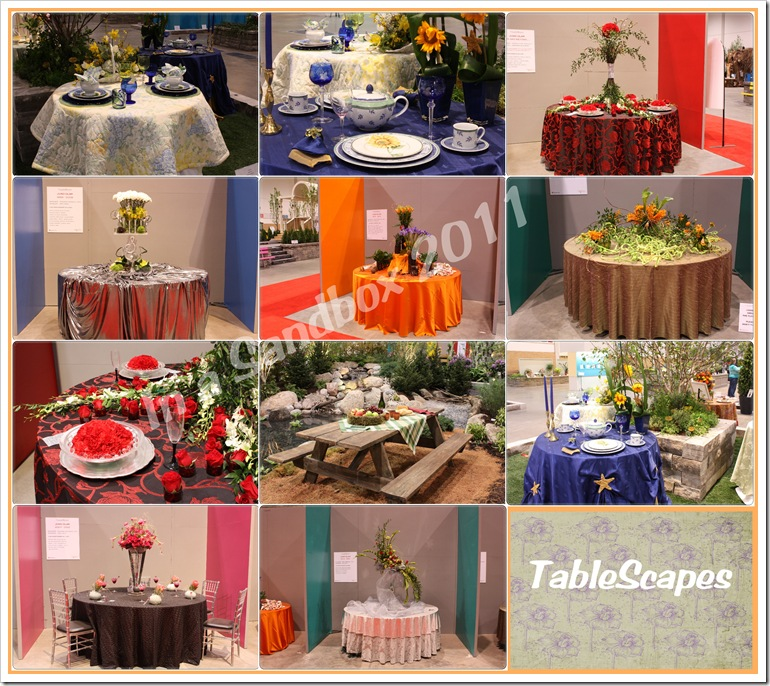tablescape mosaic