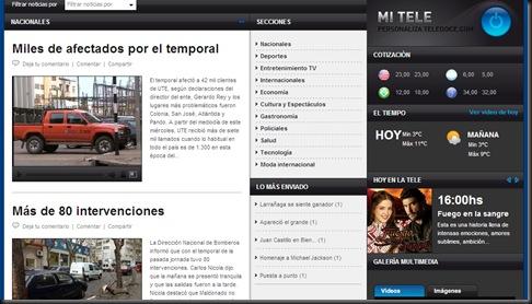 Web de LA TELE 2