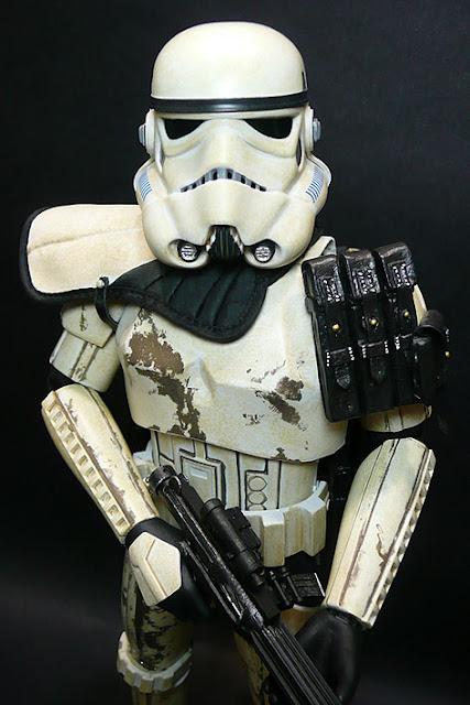 Sideshow 1//6 Star Wars Orange Sandtrooper Belt Armor