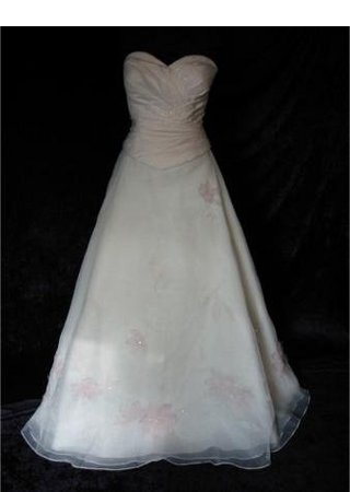 Veronica ; Strapless Wedding Dress