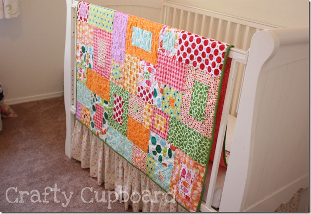 Toss Up Quilt Crib