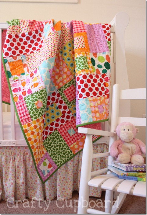 Toss Up Quilt Tossed