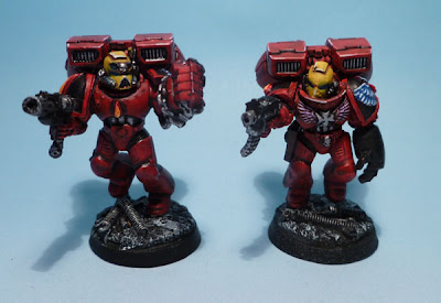 Sergent Blood Angels Escouade Assaut