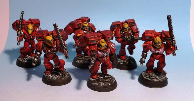 Blood Angels Escouade d'assaut