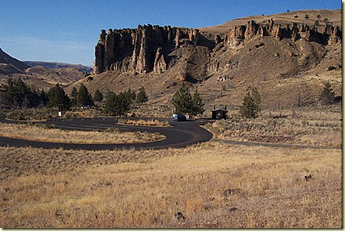Clarno Palisades - JD Fossil Beds