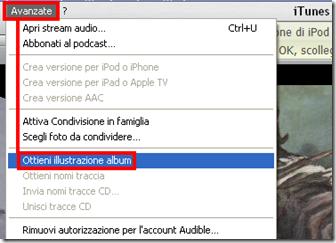 Come ottenere le copertine album iTunes