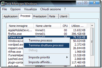 Task Manager di Windows
