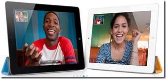iPad 2 ha FaceTime e due fotocamere digitali