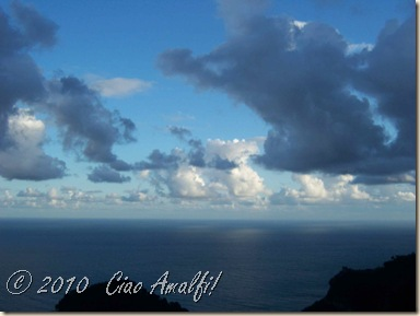 Ciao Amalfi Coast Blog touching clouds1