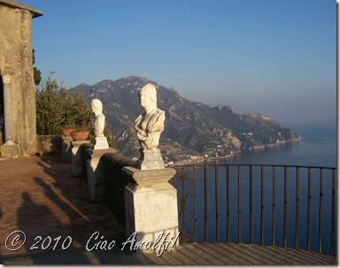 Ciao Amalfi Coast Blog Ravello Winter Villa Cimbrone 4