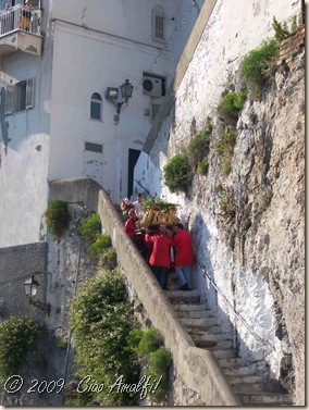 Ciao Amalfi Coast Blog Antonio Procession1