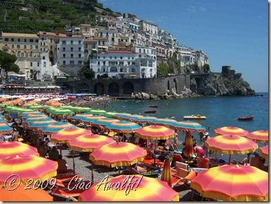 Ciao Amalfi Coast Blog Beach Umbrellas