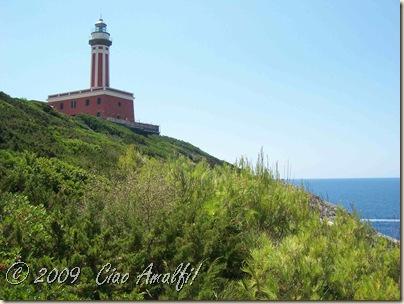 Ciao Amalfi Coast Blog Capri Faro4